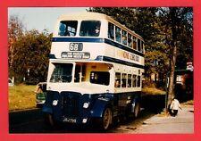 Birmingham Bus Photo ~ WMPTE 2795 - 1952 Crossley Daimler CVG6 - Garretts Grn Ln