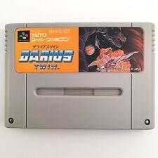 DARIUS TWIN Nintendo Super Famicom Japan SNES SFC JP Video Game USED 628-4