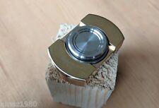 VARSA Brass Polished Fidget Hand Spinner Toy Hand Desk Metal bearings
