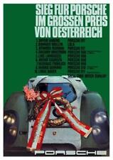 Porsche *POSTER* - 908 910 911 917  - 1969 Auto Race Car GERMANY - AMAZING PRINT