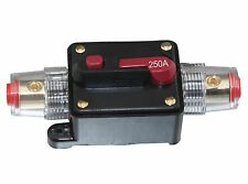 APS 250A Car Audio Inline Circuit Breaker Fuse for 12V Protection SKCB-04-250A