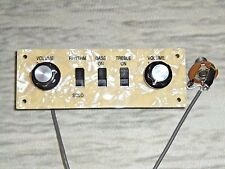 Volume and Tone control panel / Face plate Violin / Viola bass  NEW!
