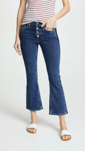 Cotton Citizen Womens Fly W411580 Jeans Tapered Indsh Blue Size 24
