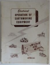 VINTAGE ELECTRICAL OPERATION OF EARTHMOVING EQUIPMENT                 (INV10166)