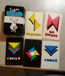 Vintage Super Uno Spanish Card Game Collectable