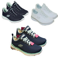 Womens Skechers Trainers Casual Summits Gym Running Shoes Walking Slip On