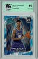 Frank Mason III 2017 Donruss Optic Flash Holo SP #167 Rookie Card PGI 10