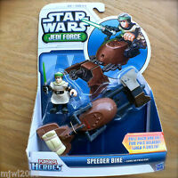 STAR WARS Jedi Force SPEEDER BIKE with LUKE SKYWALKER Playskool Heroes HASBRO