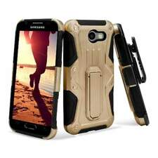 For Samsung Galaxy J3 (2017) Shockproof Heavy Duty Stand Hard Case Cover Holster