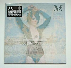 """MARNIE [LADYTRON] - THE HUNTER:REMIXED - 12"""" CLEAR VINYL - RSD 2014 - 500 ONLY!"""