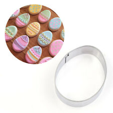 Easter Egg Cookies Cutter Mold Cake Fondant Biscuit Pastry Baking Molud DIY Tool