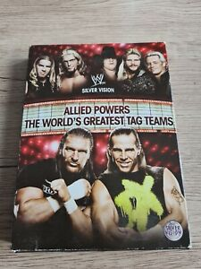 ALLIED POWERS THE WORLD'S GREATEST TAG TEAM COFFRET DVD WWE CATCH