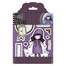 "Docrafts 907121 ""Santoro Tweed -  Rainy Daze"" Rubber Stamp"