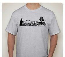 Heisey Etching T-Shirt (Fisherman)