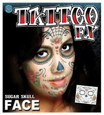 TINSLEY TATTOO MEXICAN DAY OF THE DEAD FIESTA WOMAN Fancy Dress COSTUME PARTY