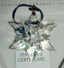 SWAROVSKIJahresausgabe Stern Annual Edition 2000 Christmas Xmas Ornament TOP