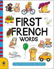 First French Words by Sam Hutchinson (Board book, 2017)