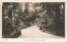 Real photo bolton abbey the archer WHS kingsway
