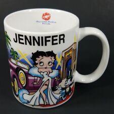 Betty Boop JENNIFER Universal Studios personalized collectible coffee cup mug