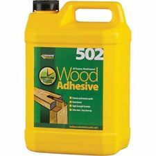 Everbuild 502 PVA Weatherproof/Waterproof Wood Adhesive/Glue - 5 litre (5L)
