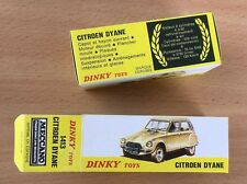 French Dinky Toys Citroen Dyane - Reproduction Box