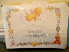 Baby Gift Shower Thank You Notes ~ 16 Cards & Envelopes