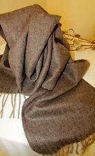 Wollschal, Winterschal 100% Wolle