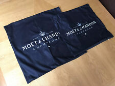 "Champagne Cushion Cover Black White Moet 18"" 45x45cm"