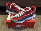 NIKE AIR MAX 95 CHRISTMAS UGLY SWEATER SHOES NOBLE NEW RARE Youth GS Sz 7Y