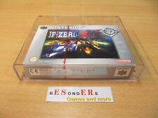Nintendo 64 gioco, F-ZERO X, VGA 85-Mn + - OVP-PAL - 71356133
