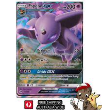 Proxy ? Espeon GX Pokemon Card Rare Psiana GX Full Art Holo