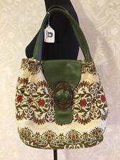 Vintage Tapestey Bag, Green, Lovely