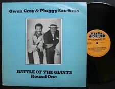 Owen Gray & Pluggy Satchmo Echo Records UK Roots LP 1980