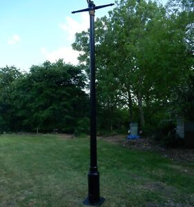 Original victorian lamp post