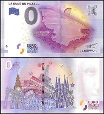 Zero (0) Euro Europe, 2017-2, UNC, La Plus Haute, La Dune Du Pilat 117m, France