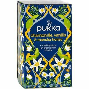 Pukka Chamomile, Vanilla & Manuka Honey 20 Tea Bags- Exp 03/2021