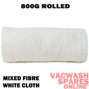 SOFT 800G MIXED FIBRE WHITE STOCKINETTE MUTTON POLISH CLOTH ROLL - TRADE CLOTH