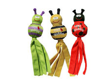 Kong Wubba Bug Puppy Toy Small Asst Characters (Free Shipping)