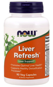 NOW Foods Liver Refresh™ 90 Veg Capsules FREE SHIPPING. MADE IN USA