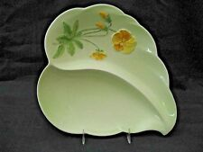 ROYAL WINTON GRIMWADES Pastel / Moulded Relief Pattern 2 SECTION DISH NICE ITEM