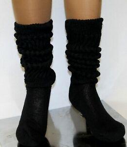 Slouch Socks Knee Scrunchie heavy work out Hooters girl Uniform nurse school xo