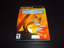 """Amplitude """"Great Condition"""" (PlayStation 2) Complete PS2"""