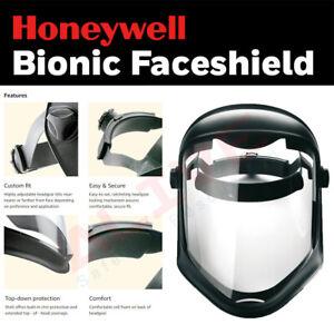 Face Shield Honeywell Bionic 1011623 Face Visor Full Eye & Face Cover Protection