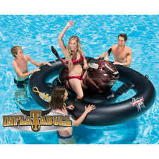 Intex Inflatable Pool Float Inflatabull Lounger Swimming Floating Mat Seat