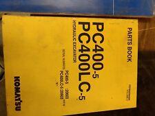 KOMATSU PC400-5 PC400LC-5  Hydraulic Excavator Parts  Book Vol 2