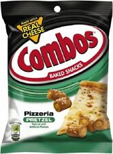 Combos Pizzeria Pretzel 178g 6.3oz (American Snack) -PACK OF 2
