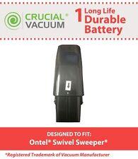 Black Ontel Swivel Sweeper 7.2V NiMH Vacuum Battery Fits Sweeper G1 & G2 RU-RBG
