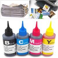 1pc 100ml Refill bulk ink kit for HP Canon Lexmark Dell brother inkjet printer
