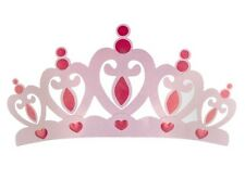 """26""""x14"""" Pink Metal Crown Wall Decor Over the bed 3D Princess Room Decor New"""