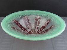 schöne Glas-Schale ca.30er Jahre WMF Ikora